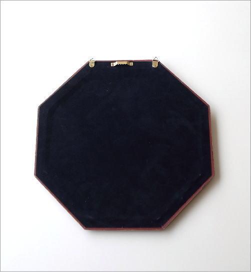 八角ウォールミラー リボン(3)