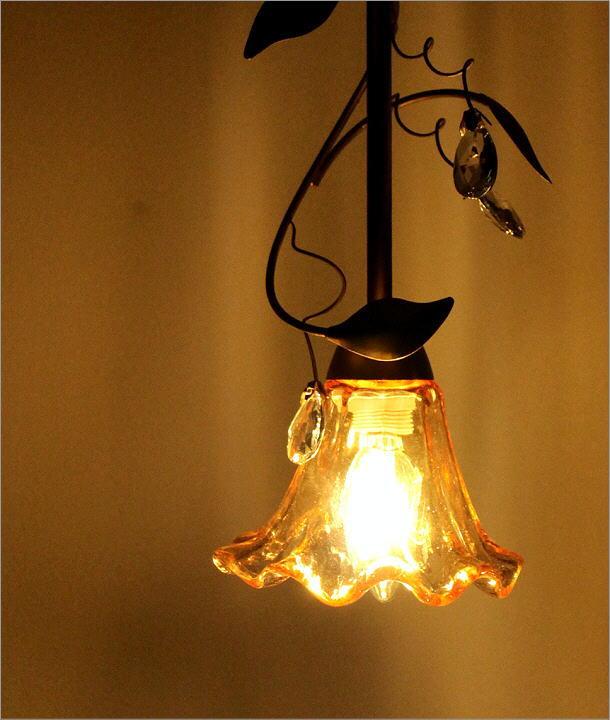 LEDペンダントランプ フローリー GD(1)