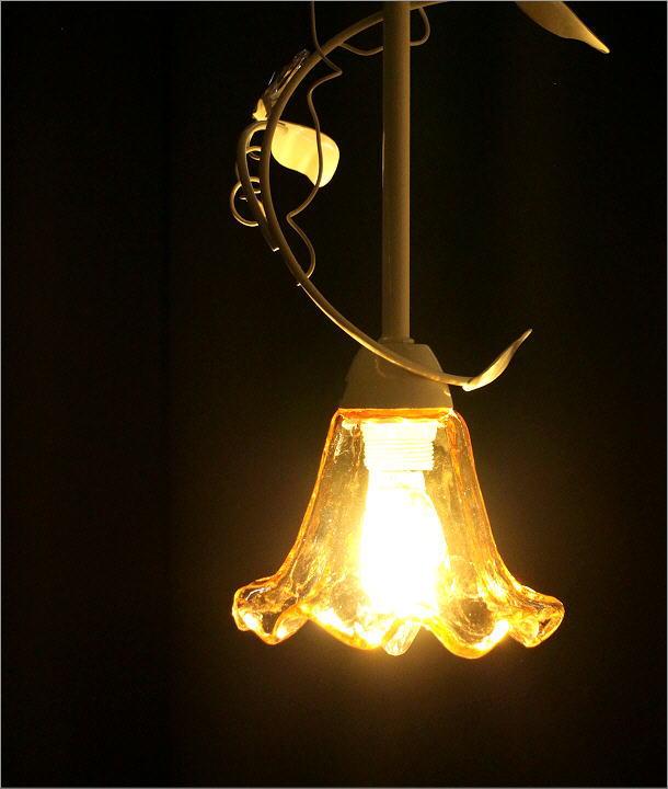 LEDペンダントランプ フローリー WH(1)