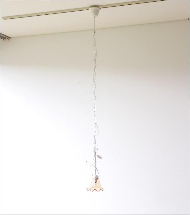 LEDペンダントランプ フローリー WH(2)