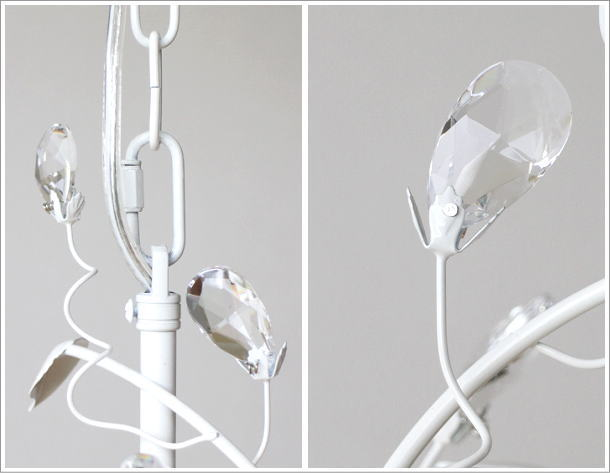LEDペンダントランプ フローリー WH(4)