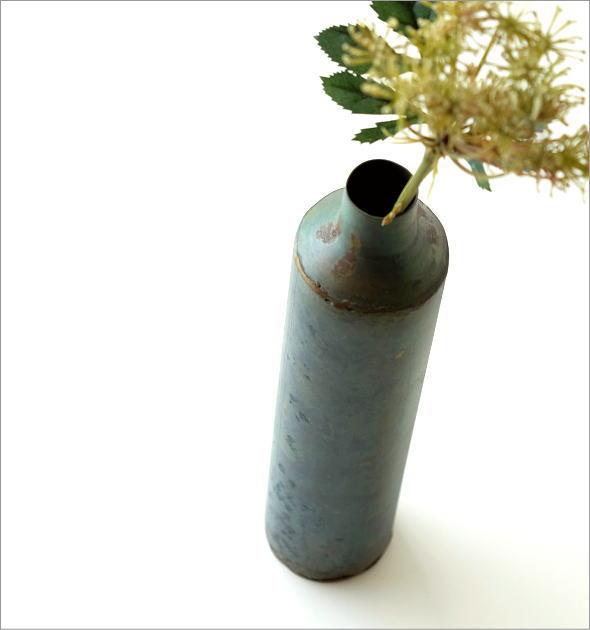 鉄の一輪挿し ロングボトル(1)