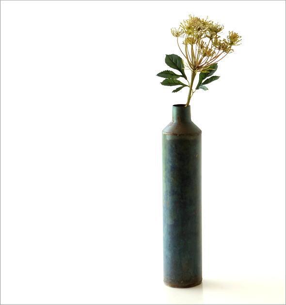 鉄の一輪挿し ロングボトル(5)