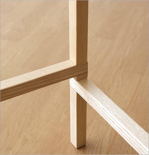 折りたたみウッドラック(3)