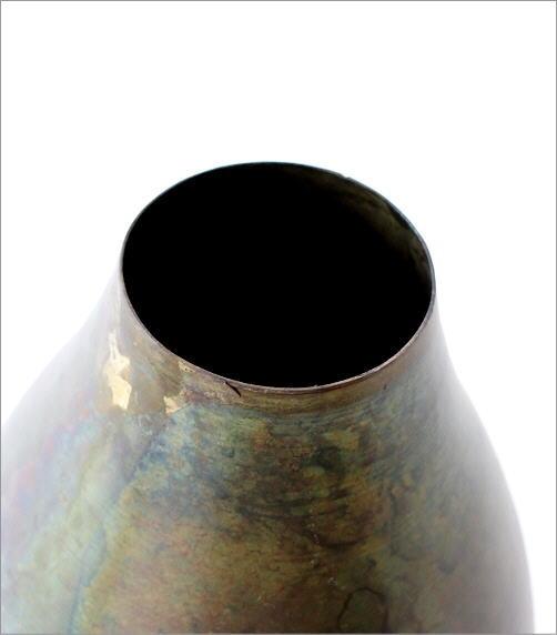鉄の一輪挿し オーバル(2)