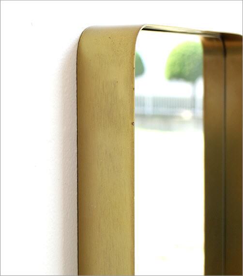 ゴールドアイアンのスクエアミラー(2)