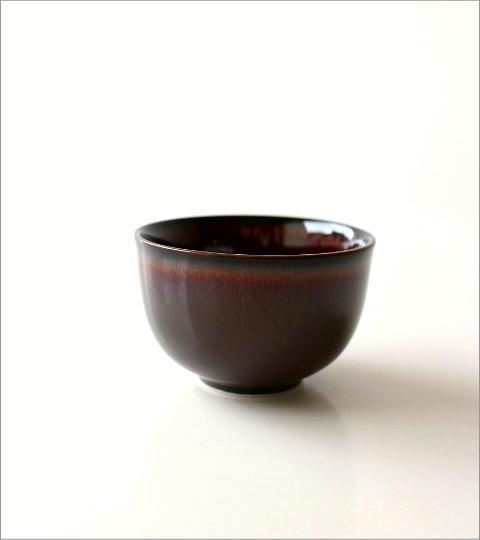 煎茶碗 うるし釉(4)