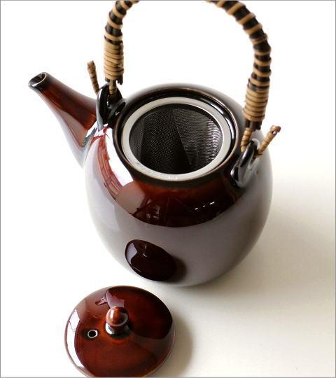 土瓶 うるし釉(3)