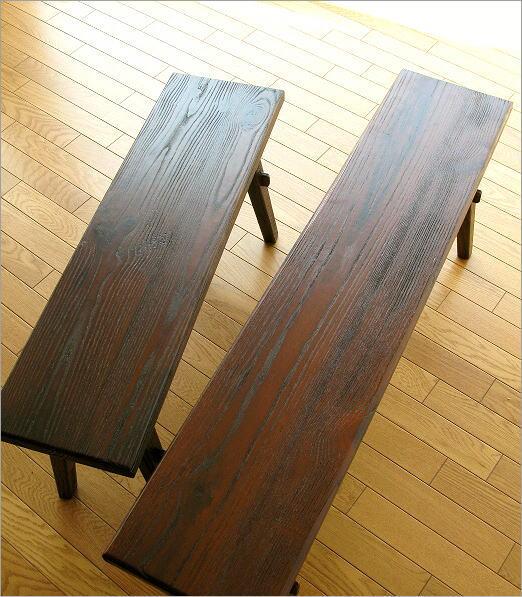 木製ベンチ120と90