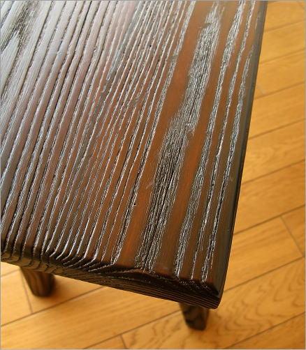 木製ベンチ90 座面アップ