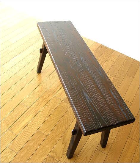木製ベンチ90 全体イメージ(1)