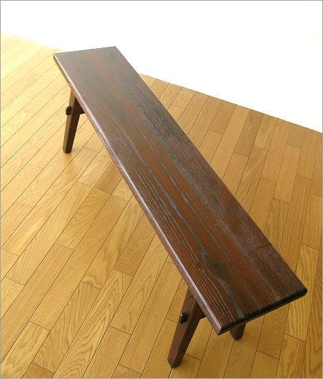木製ベンチ120 全体イメージ(1)