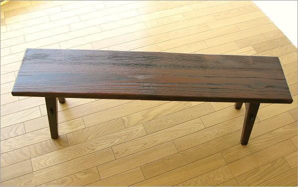 木製ベンチ120 全体イメージ(2)