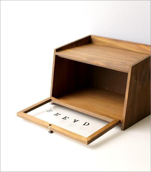 ウッドブレッドボックス(3)