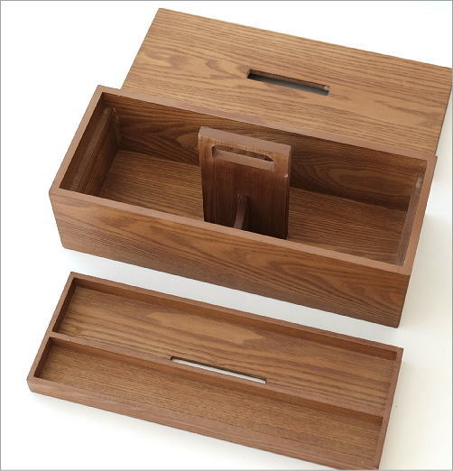 木のマルチストレージボックス(3)