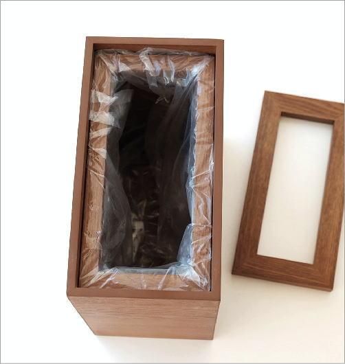木のダストボックス(2)