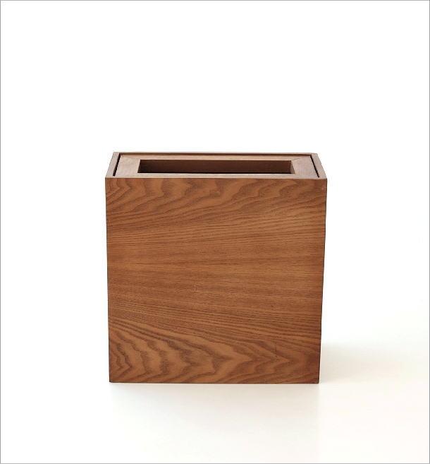 木のダストボックス(4)