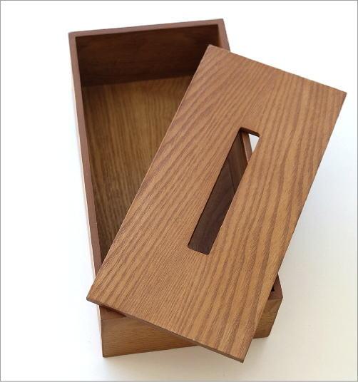 木のティッシュボックス(2)