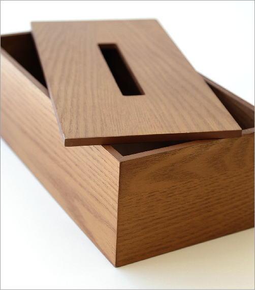 木のティッシュボックス(3)
