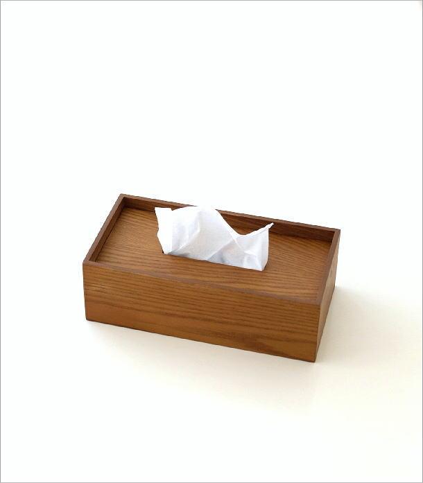 木のティッシュボックス(4)