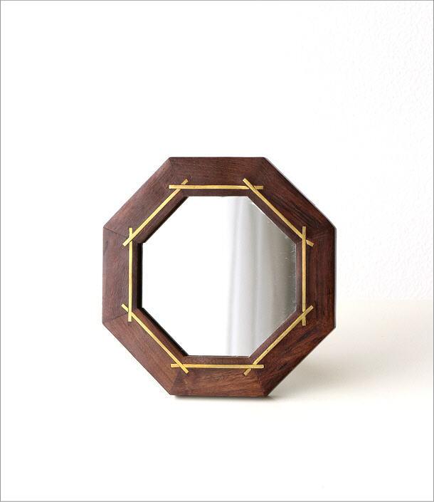 ウッド&ブラスミラー 八角(4)
