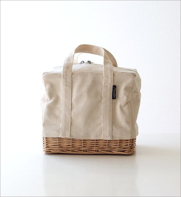 キャンバスのランチクーラーバッグ WH(1)
