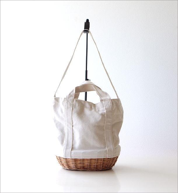 キャンバスの2WAYバッグ WH(1)