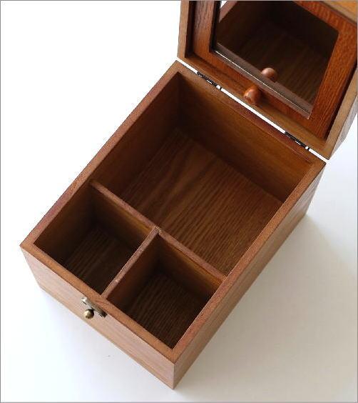 ウッドコスメボックス(3)
