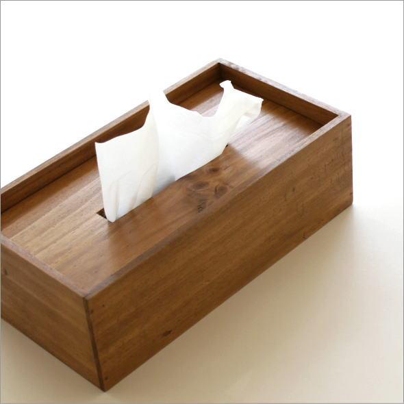 ティッシュボックス パイン(1)