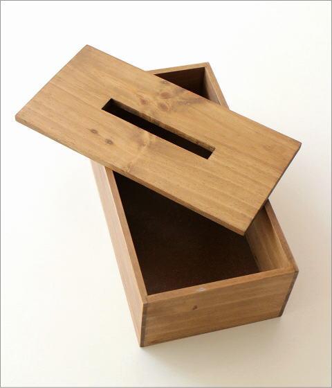 ティッシュボックス パイン(3)