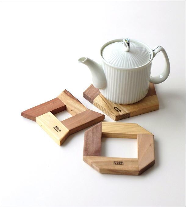 組木コースター 3タイプ(1)