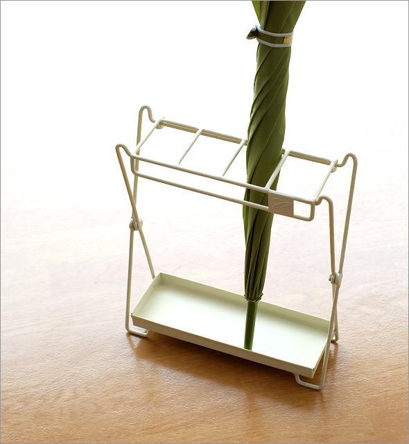 アイアン折り畳み傘立て 2カラー(1)