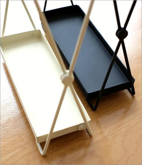 アイアン折り畳み傘立て 2カラー(3)