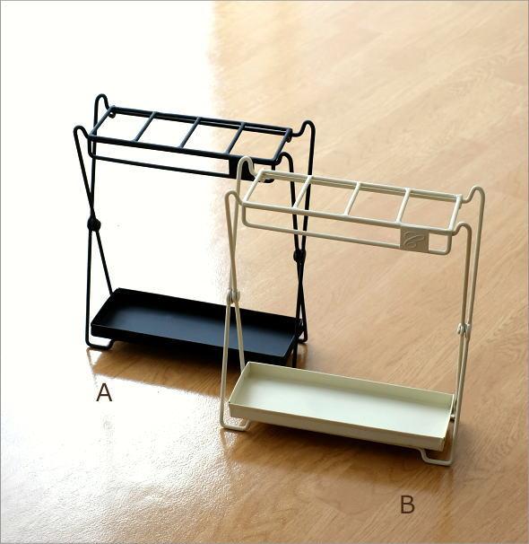 アイアン折り畳み傘立て 2カラー(6)