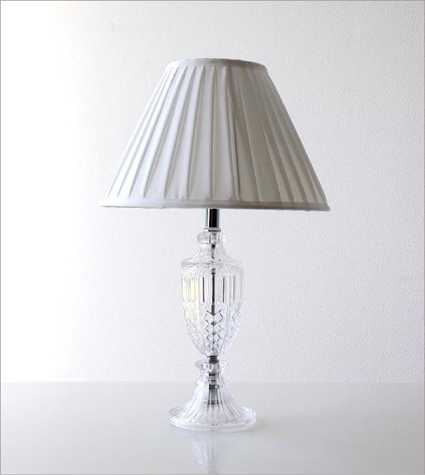 ガラスのテーブルランプ(2)