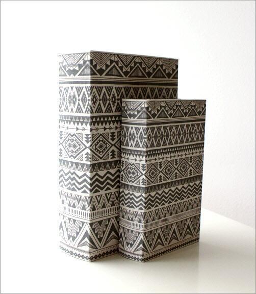 ブックボックス大小セット オルテガ(4)