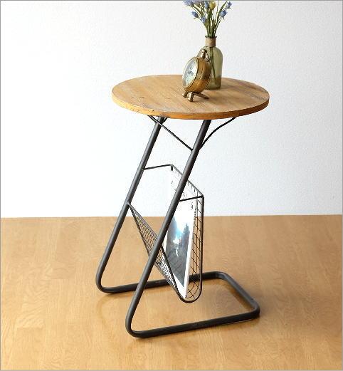 ラウンドラックサイドテーブル(2)
