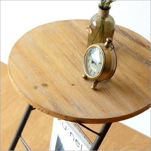 ラウンドラックサイドテーブル(3)