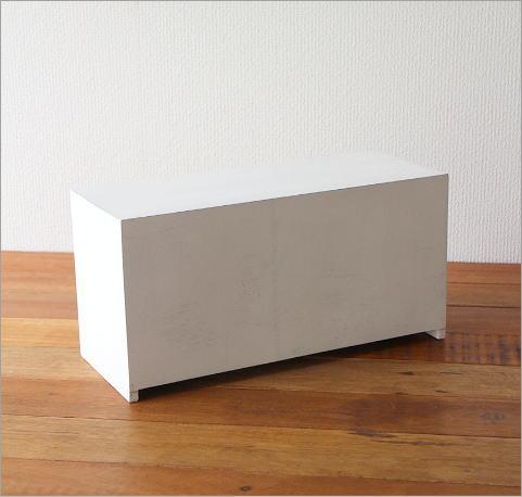 素朴なウッドケース ホワイト(5)