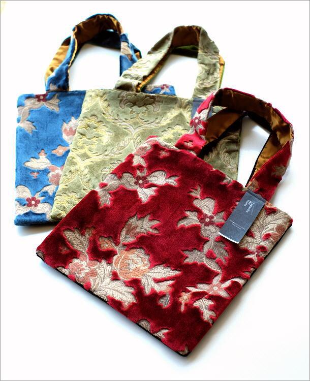 金華山織りスクエアバッグ 3タイプ(1)