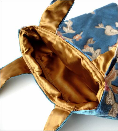 金華山織りスクエアバッグ 3タイプ(2)