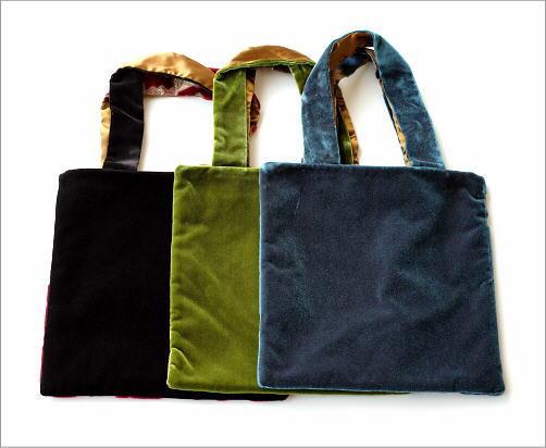 金華山織りスクエアバッグ 3タイプ(3)