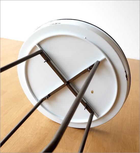 琺瑯のトレイテーブル(3)