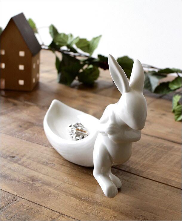 陶器のラビットトレイ(1)