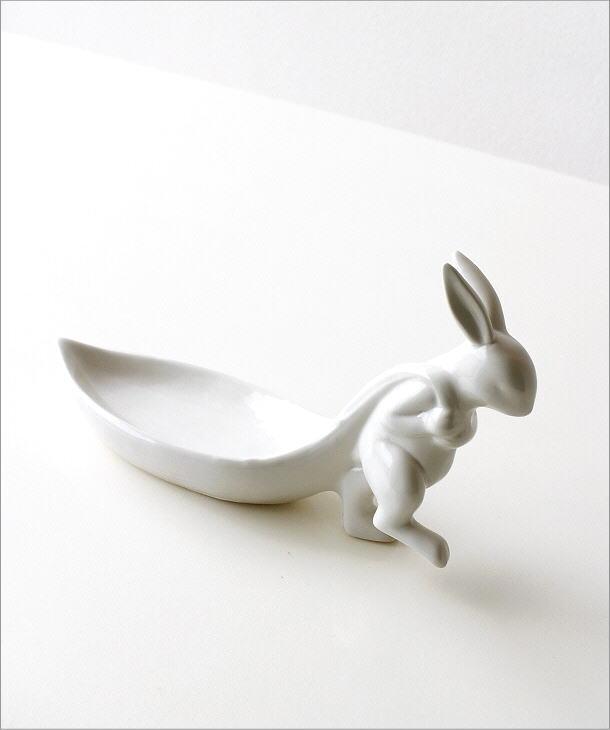 陶器のラビットトレイ<i></i>(5)
