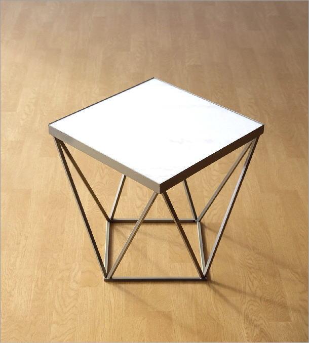 アイアンと大理石のテーブル(6)