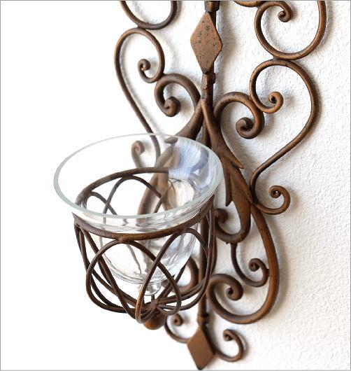 メタルな壁掛ガラスホルダー(2)