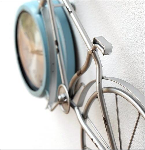 自転車ウォールクロック(3)