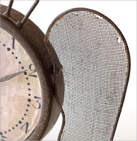 レトロなウィング付き置き時計(3)
