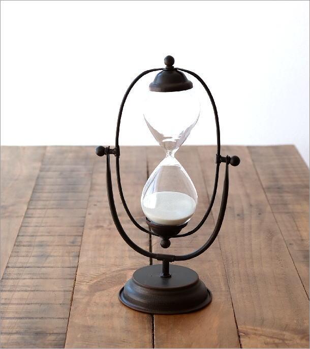アイアンのスウィング砂時計(1)